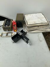 Minolta Mini 35mm Slide Projector, autochanger & original case, AND TWO BULBS!!