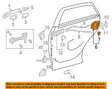 TOYOTA OEM Rear Door-Lock Actuator Motor 6906060100