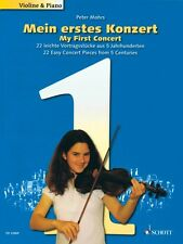 My First Concert 22 Easy Concert Pieces from 5 Centuries Violin and Pi 049044751