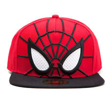 Cappello Ultimate Spider-man 3D Snapback cap with Mesh Eyes Hat Marvel Bioworld