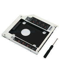 2nd Hard disk HDD adattatore caddy per MacBook Pro MB466LL/A A1278 A1286 DVD
