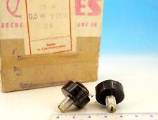 Vintage WIRE WOUND TESLA Potentiometer 1kOhm 1K Ohm 1 kOhm 0.5W