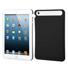For Apple iPad Mini TPU Candy HYBRID GLOW Case Phone Cover Black White accessory