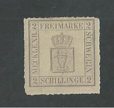 MECKLENBURG-SCHWERIN, GERMAN STATES # 6 Mint COAT OF ARMS