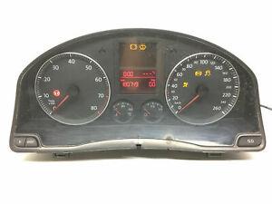 VW Golf MK5 Petrol Tacho  Instrument Cluster Speedometer KMH LHD 1K0920851G