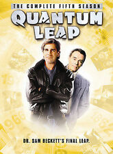 Quantum Leap - The Complete Fifth Season Dvd, Dean Stockwell,Scott Bakula,