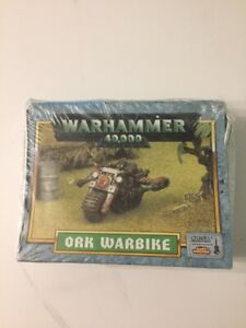 WARHAMMER 40K SPACE ORK WARBIKE  RARE new