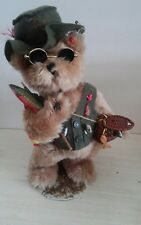 """13"""" Fisherman Teddy Bear with stand"""