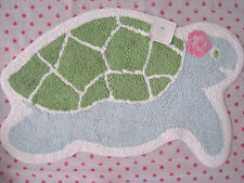 NEW Pottery Barn Kids ~ MERMAID COLLECTION ~ Turtle Bath Mat ~ LAST ONE ~