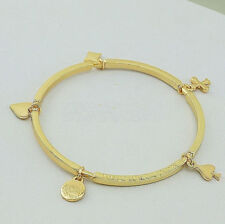 Great New Gold MARC BY MARC JACOBS Poker Charm Bangle Bracelet