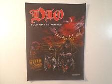 Vintage DIO Unused 1990 BACK PATCH heavy metal judas priest ozzy wasp lp t shirt