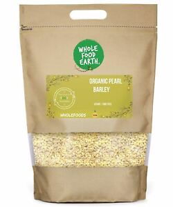 Organic Pearl Barley   Vegan   GMO Free