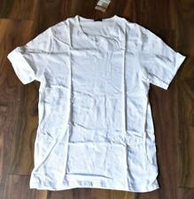 LOVABLE MAN WHITE BASE LAYER PYJAMA TOP size M new with tag #19