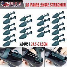 10 Pair Durable Form Plastic Shoe Tree Men Practical Boot Shoe Stretcher