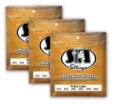 SIT Strings P1254 LIGHT PHOSPHOR BRONZE ACOUSTIC (3-PACK)