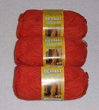 Bernat Cotton-ish Yarn Lot Of 3 Skeins (Cotton Harvest #85628) 2.4 oz. Skeins