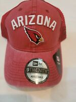 Arizona Cardinals  9Twenty Mesh Trucker Snapback Hat Cap Men's