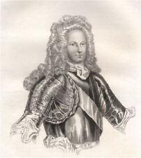 Stanislaw I Leszczynski. Poland 1836 old antique vintage print picture