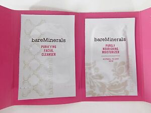 BARE MINERALS Naturally Luminous Duo Sample Packs - 10 pack - Combination Skin