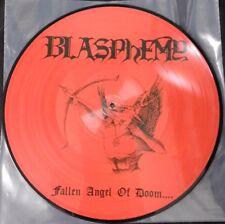 Blasphemy - Fallen Angel Of Doom LP - Red Picture Disc Vinyl - Black Metal Album