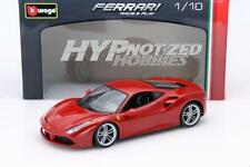 BBURAGO FERRARI RACE & PLAY 1:18 FERRARI 488 GTB DIE-CAST RED 18-16008RD