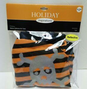 "Pirate Halloween pet Costume size Medium up to 14""-16"" Cat Dog Reflective New Pk"