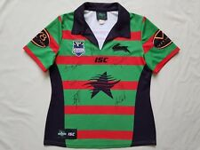Official NRL South Sydney Rabbithos 2013 Ladies Jersey Signed Womens Size 12