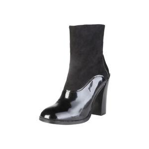 V-1969 Damen Stiefeletten Stiefel Ankle Boots CORDELIE, Schwarz