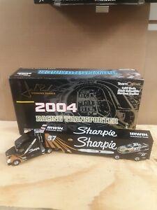 1/64 2004 #97 Kurt Busch team caliber racing transporter Owners series Sharpie