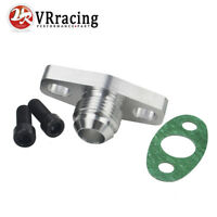 Aluminum Turbo Oil Return Drain Flange Adapter AN10 Garrett GT28 GT30 GT35 T25