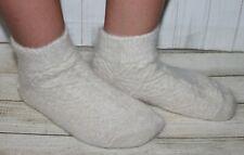 WOMEN's short SOCKS SLIPPERS goat down yarn 7US