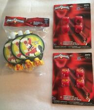 Power Rangers Party Supplies Favors Rings Blowouts for 8 New in package