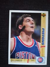 BILL LAIMBEER (DETROIT PISTONS) - NBA UPPER DECK STICKER/CARD 91-92 -  #49