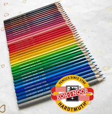 KOH-I-NOOR Hardtmuth 36 COLOUR PENCILS pack Student Quality Wood Colouring 3655