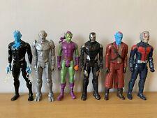 Hasbro 12 Inch Figures Bundle. Marvel Green Goblin Electro Titan Yondu Iron Man