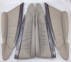 WH WK WL Grange HSV VZ new Full Set Light Reed champagne trim Leather inserts
