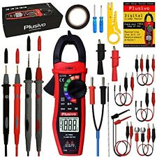 Digital Clamp Meter T Rms 6000 Counts Multimeter Non Contact Voltage Tester A