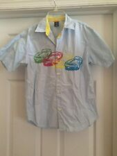 Fabulous Gap Kids Short Sleeve Button Down Shirt Size XL (12)-Great Details!