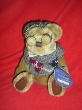 Plush Teddy Bear Doll Sherwood with glasses Brass Button Pickford Bears Jointed
