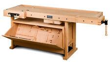 Hobelbank inkl. Kipplade - HOLZKRAFT HB 2007 für Schreiner / Tischler - 128kg
