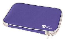 "DURAGADGET 16"" Water Resistant Neoprene Laptop Case With Sturdy Twin Zip In Blue"