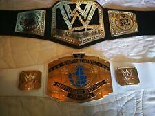 WWE Kids Childrens Belts Champion And Intercontinental Mattel 2013 and 2014