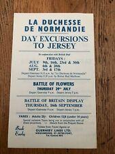 More details for 1960s paper flyer ! la duchesse de normandie