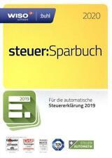 WISO steuer:Sparbuch 2020 | für Steuerjahr 2019 | inkl CD | Download möglich