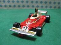 Vintage   -  FERRARI 312 T  Formula 1   - 1/43 Champion