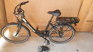 """F.Lli Schiano Elettrico Bicicletta E- Luna, Unisex, Nero, 26 """", Bill V10127"""