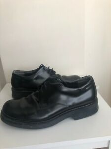 BASS Black Dress Shoes Leather Upper Men's Size 11 Lace Up