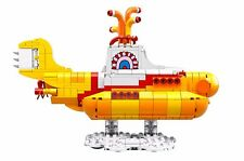 LEGO The Beatles Yellow Submarine-21306 -SUBMARINE ONLY- No Minifigs with box