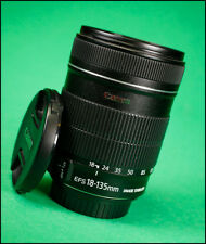 Canon EF-S 18-135mm F3.5.5-6 Image Stabilizer Zoom Lens With Front & Rear Caps