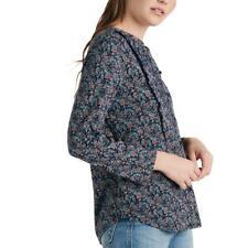 Lucky Brand Womens Floral Eyy Button-Down Top Shirt BHFO 0598